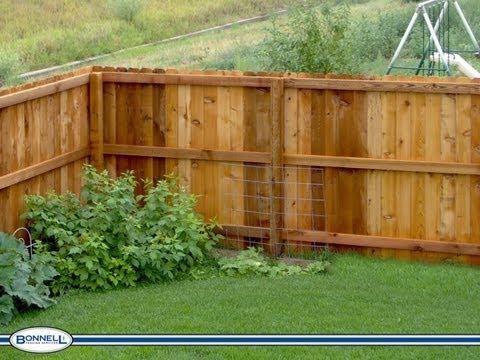 How To Install A Cedar Fence Part 1 Youtube