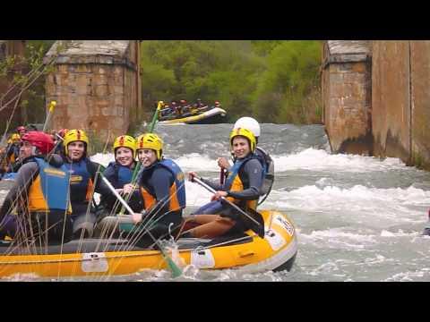 AIGUAROCA deportes de aventura en Valencia Rafting