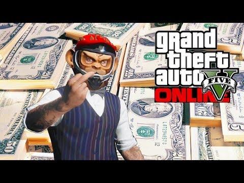 GTA 5 Online - Rank Up & Make Money Fast! (GTA V)