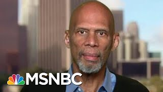 Kareem Abdul-Jabbar: Kaepernick Continuing Civil Rights Movement | The Beat With Ari Melber | MSNBC