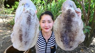 Yummy Cuttlefish Salad Cooking - Cuttlefish Salad Recipe - Cooking With Sros