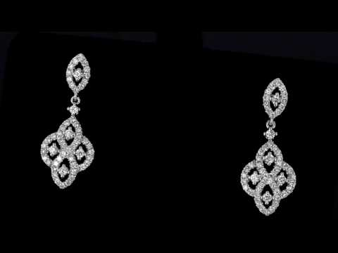 Browns Family Jewellers Elegant Diamond Earrings