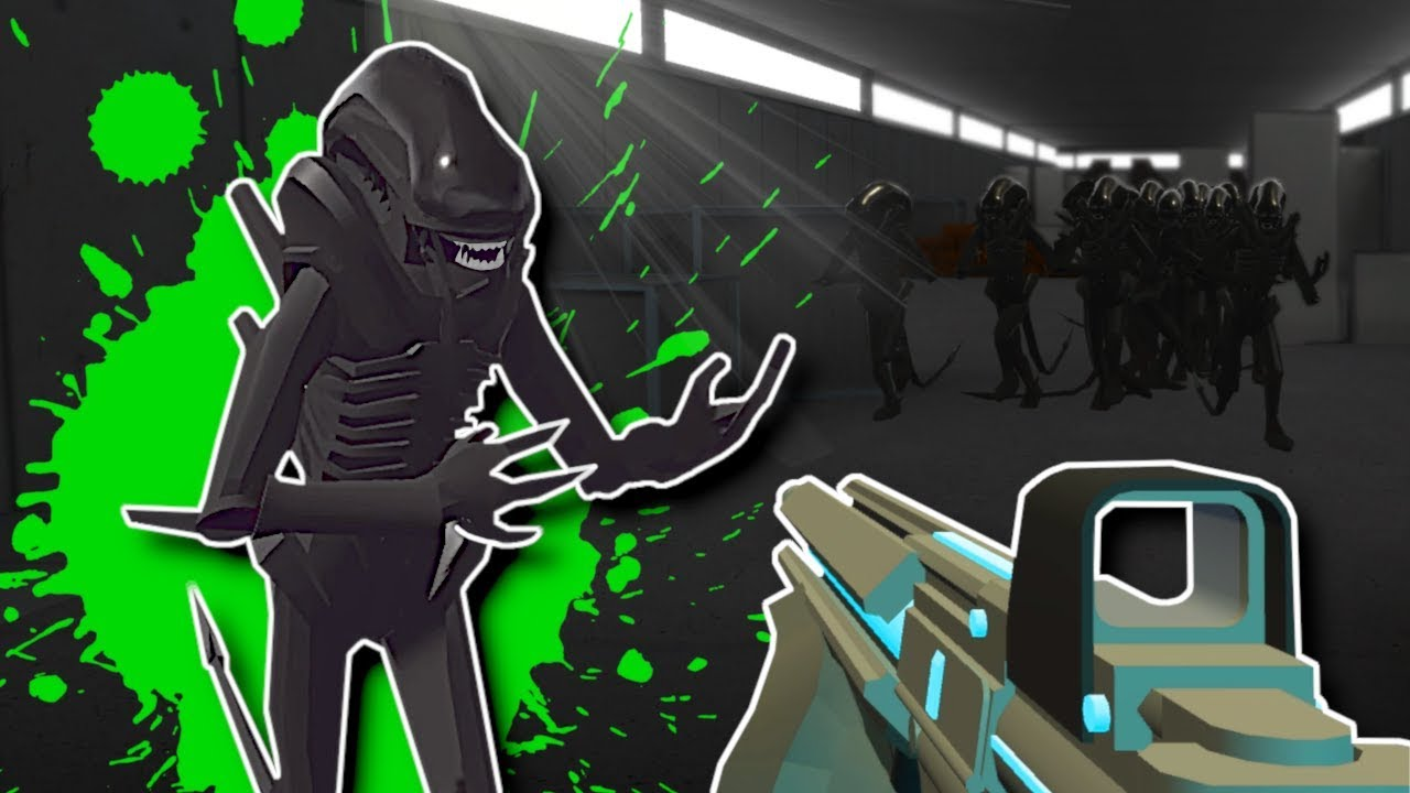 XENOMORPH ALIENS ATTACK! - Ravenfield Gameplay - Xenomorph Survival Mods