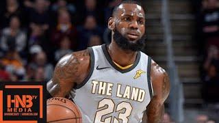 Cleveland Cavaliers vs San Antonio Spurs Full Game Highlights / Feb 25 / 2017-18 NBA Season