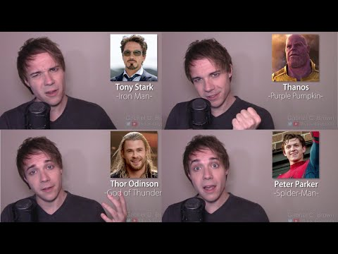 INFINITY WAR IMPRESSIONS! (Thor, Iron Man, Thanos, Black Panther, Spider-Man)