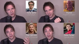 INFINITY WAR IMPRESSIONS! (Thor, Iron Man, Thanos, Black Panther, Spider-Man)