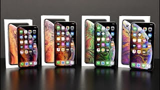 Apple iPhone XS vs XS Max: Unboxing & Review (All Colors)