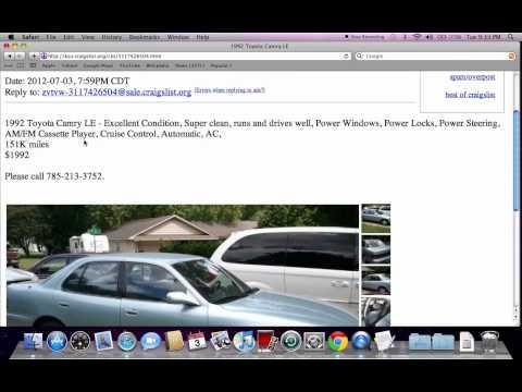 Lawrence Ks Craigslist Cars By Owner