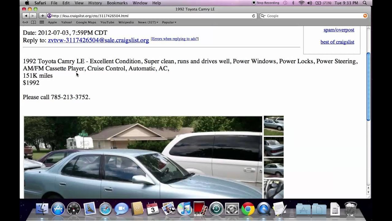 Craigslist Manhattan KS Used Cars