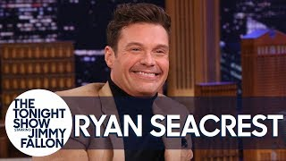 Ryan Seacrest Explains That Chair Tumble He Took During Live with Kelly andRyan