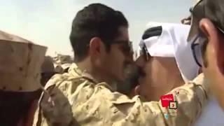 تواضع وزير الحرس الوطني الامير متعب بن عبدالله     -