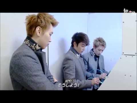[中字] Super Junior Super Show4 in Japan 日本拍攝花絮&幕後採訪