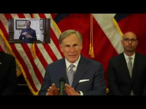 Gov. Gregg Abbott announces plan to reopen Texas businesses