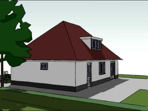 Voorbeeldplan nieuwbouw woningontwerp EB840