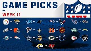 Week 11 Game Picks!   NFL 2020
