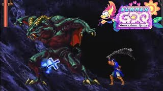 Castlevania: Symphony of the Night by Dr4gonBlitz in 43:11 - SGDQ2019