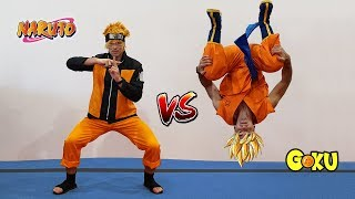 Naruto VS Goku In Real Life (Parkour Battle)