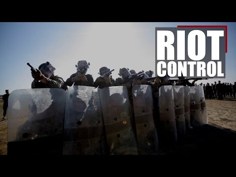 Black Sea Rotational Force | Riot Control