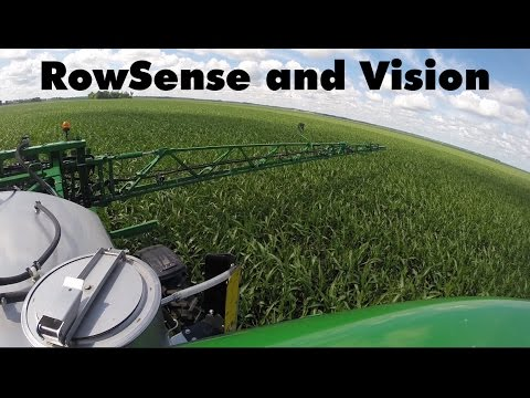 John Deere Sprayer AutoTrac Vision and RowSense with RDO Equipment Co.