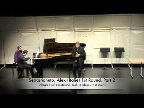 Sebastianuto, Alex (Italie) 1st Round. Part 2
