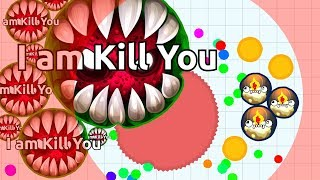 SAVE OR KILL? Experiment in Agar.io Battle Royale