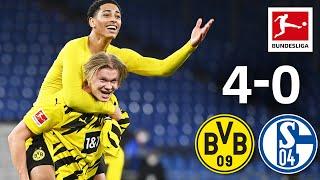 Haaland's Brace & BVB Derby Win   FC Schalke 04 - Borussia Dortmund   4-0   Highlights   MD 22
