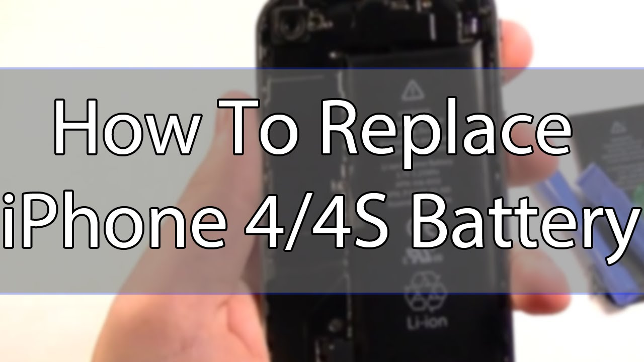 how to replace iphone 4s battery how to replace an iphone 4 4s battery 1706