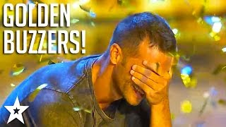ALL GOLDEN BUZZERS on Italy's Got Talent 2017! | Got Talent Global
