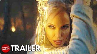 ETERNALS Teaser Trailer (2021) MCU Superhero Movie, Marvel Studios Celebrates The Movies