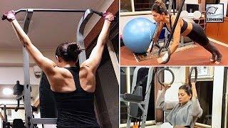 Sushmita Sen Workout Video-Exclusive..