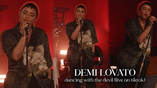 Demi Lovato - Dancing With The Devil (Live on TikTok)