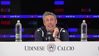 Conferenza Mister Gotti   Pre Udinese Juventus   01:05:2021