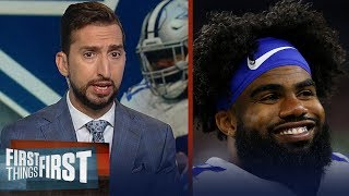 Ezekiel Elliott, Cowboys agree to 6-yr/$90M extension - Cris & Nick react | NFL | FIRST THINGS FIRST