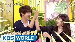 """Jeong Eunji & Hwang Chiyeul, """"This is our aegyo-filled dialect!"""" [Happy Together / 2017.06.29]"""