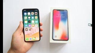 iPHONE X | UNBOXING Y PRIMERAS IMPRESIONES en ESPAÑOL