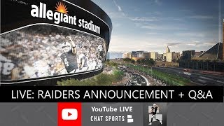 Las Vegas Raiders Team Name Announcement - REACTION