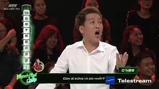 Lê Giang đối đầu Lâm Khánh Chi | HTV NHANH NHƯ CHỚP | NNC #17