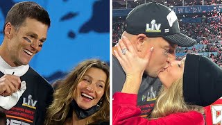 How Tom Brady and Rob Gronkowski Celebrated Their Super Bowl 2021 VICTORY!