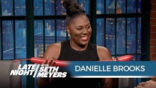 Danielle Brooks Makes Balloon Animals