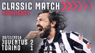 Juventus 2-1 Torino | Andrea Pirlo Scores Last Minute Derby Winner! | Classic Match Highlights