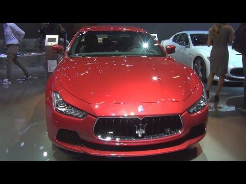 Maserati Ghibli S Q4 Rosso Energia (2016) Exterior and Interior in 3D