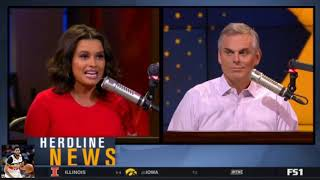 Colin Cowherd Shocked Who is actually