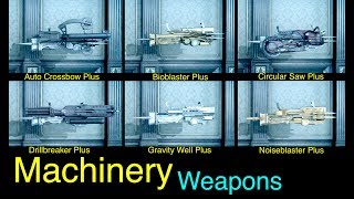 Final Fantasy XV: All Machinery Weapons