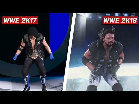 WWE 2K18 Graphics Comparison Is It Worse PS4 Xbox One