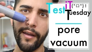Pore Vacuum Suction Tool - Test It Tuesday - Viral Instagram Grooming Products Review ✖ James Welsh