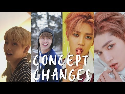 BEST CONCEPT CHANGES IN KPOP! (BTS, EXO, NCT, RED VELVET, & MORE!)