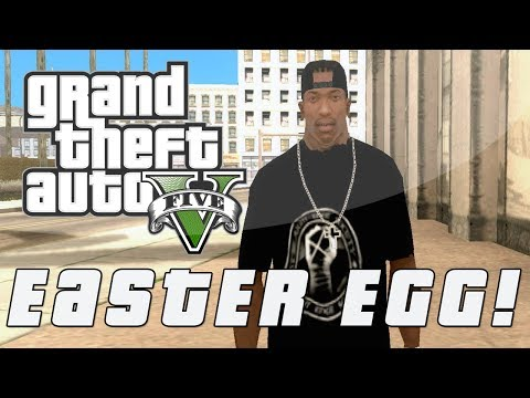 "Grand Theft Auto 5   Secret CJ ""Surveillance"" Easter Egg (GTA V) - Smashpipe Games"