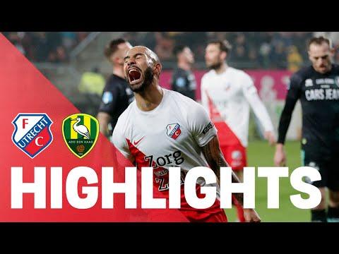 HIGHLIGHTS   FC Utrecht - ADO Den Haag