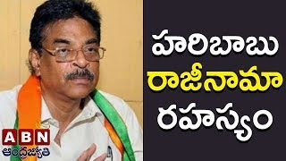 Reasons behind Hari Babu Resignation- Inside..