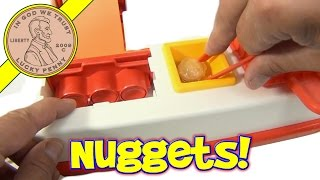 McDonald's Happy Meal Magic 1993 McNugget Snack Maker Set - Making McNuggets!